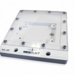 Fräsgehäuse IP44 mit Klarsichtdeckel aus Kunststoff